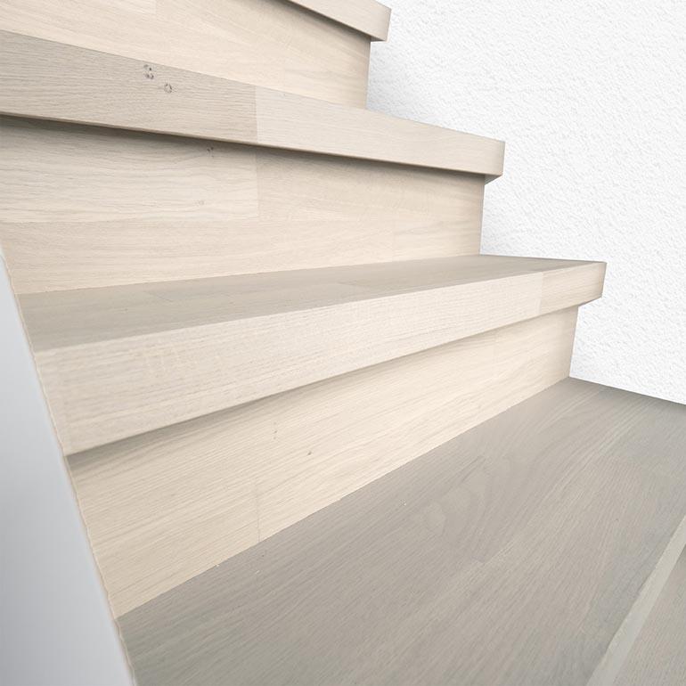 Perfect aansluitende trapafwerking