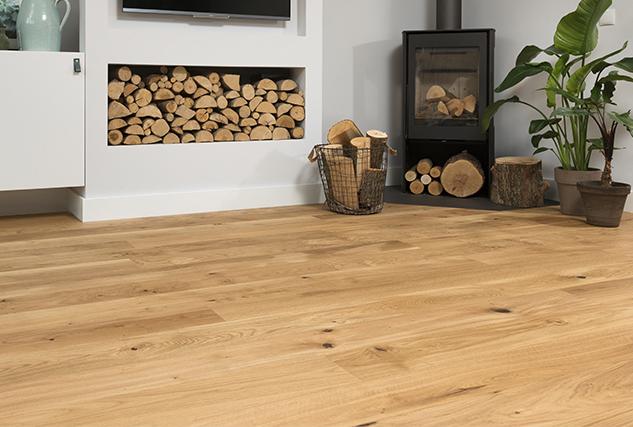Onderhoud geoliede houten vloer